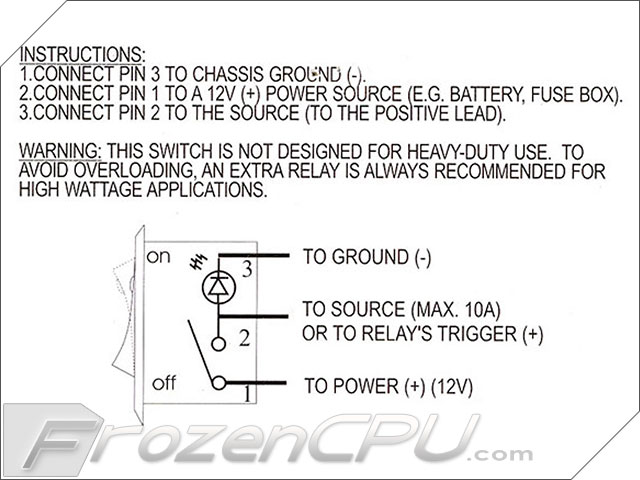 Wiring Diagram On Off Switch And Led Rocker - Wiring Diagrams on