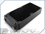XSPC RX240 Dual 120mm Radiator V3 - Matte Black