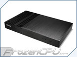 Akasa Galileo Ultra-Slim Fanless Solid Aluminum Mini-ITX Case - VESA Mountable (AK-ITX09-BK)