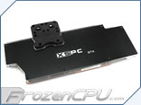 XSPC Razor GTX Titan / 780 / 780 Ti Full Coverage VGA Block V2 - Reference Design