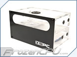 "XSPC Dual 5.25"" Bay Reservoir / Pump Combo - DDC Included"