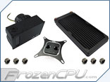 XSPC Raystorm <b>EX280</b> Extreme Universal CPU Water Cooling Kit <b>w/ D5 Variant Pump Included and Free Dead-Water!</b>