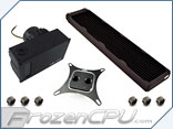 XSPC Raystorm <b>EX480</b> Extreme Universal CPU Water Cooling Kit w/ D5 Variant Pump Included and Free Dead-Water!