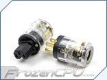 LutroO Customs 110V Power Cord Customization Ends - Clear