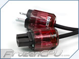 LutroO Customs 110V Power Cord Customization Ends - Red