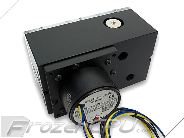how to connect d5 pwm pump