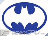 FrozenCPU Batman UV Reactive Applique
