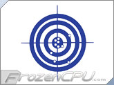FrozenCPU Bullseye UV Reactive Applique