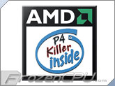AMD P4 Killer Inside Case Badge