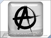 FrozenCPU Chrome Anarchist - Case Badge