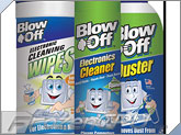 Blow Off Electronics Bundle - Premium Duster / Electronics Cleaner / Electronics Cleaning Wipes