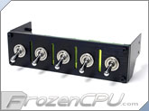 Lamptron Hummer 5 Port Military Switch Baybus - Black