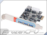 Akasa USB 3.0 PCIe card PC Internal and External Port Extension Card