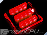 Bitspower X-Station Mini Multi-PSU Active Module Set - Red LED (BP-MINIXSPSU-RD)