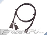 ModRight Black-Out Series 4-Pin PWM Y Cable - 24""