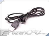 FrozenCPU.com USB to 3-Pin / 4-Pin PWM Fan Cable Adapter - 36""