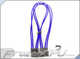 "Mod/Smart Kobra Cable MAX 4-Pin EZ-Pinch Molex Extension Cables - 16"" - Blue"