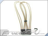"Mod/Smart Kobra Cable MAX 4-Pin EZ-Pinch Molex Extension Cables - 16"" - Desert"