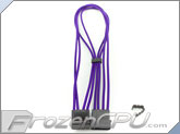 "Mod/Smart Kobra Cable MAX 4-Pin EZ-Pinch Molex Extension Cables - 16"" - Purple"