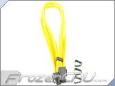 "Mod/Smart Kobra Cable MAX 8-Pin PCI-E VGA Extension Cables - 16"" - Yellow"