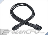Akasa FLEXA V6 6-Pin PCI-E Single Braid Extension Cable - 400mm (AK-CBPW07-40BK)