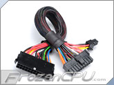 Akasa 24-Pin Power Supply Extension Cable - 300mm (AK-CB24-24-EXT)