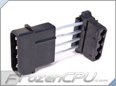 4-Pin Molex to 90 Degree 4-Pin Molex Power Adapter