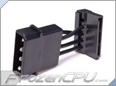 4-Pin Molex to 90 Degree SATA Power Adapter