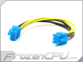 6-Pin PCI-E  Female To 6-Pin PCI-E Female Cable