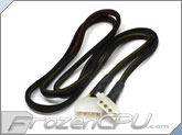 "FrozenCPU 4-pin Extension Cable - 36"" - Black"