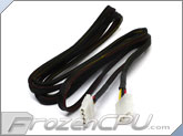 FrozenCPU 4-pin Extension Cable - Black - 72""