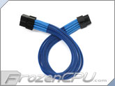 ModRight CableRight Single Braid 8-Pin PCI-E Extension - Blue