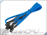 Phobya Y Cable Splitter - 3-Pin to 4x 3-Pin - UV Blue