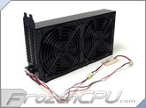 Lian Li BS-08 Dual 120mm Fan Internal Dual Slot PCI Cooler - Black (BS-08B)