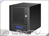 "Lian Li EX-40N Quad Bay 3.5"" SATA Giga NAS Network Storage Enclosure"