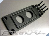 MNPCTech Switch Mounting Plate - 2x 22mm - Black (Version B)