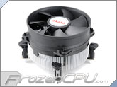 Akasa Ultra Quiet Intel Aluminum CPU Cooler (AK-CCE-7101CP) (Sockets 775 / 115x)
