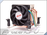 Akasa Ultra Quiet Intel CPU Cooler w/ Dual Copper Heatpipe (AK-CCE-7201CP) (Sockets 775 / 1155 / 1156 / 1366)