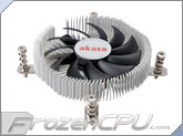 Akasa Ultra Low Profile Intel CPU Cooler - Mini-ITX (AK-CC7129BP01) (Sockets 775 / 115x)