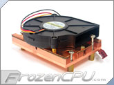 Cooljag LAX-7(L4YC) 75mm x 15mm Blower Xeon Nocona (800MHz FSB) 1U Server Active CPU Cooler - Socket 603/604