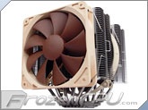Noctua NH-D14 6-Heatpipe CPU Heat Sink With Dual Noctua Fans - Socket 775 / 1156 / 1366 / AM2 / AM2+ / AM3*