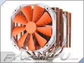 Phanteks PH-TC14PE_OR Twin Tower Dual 140mm Universal CPU Cooler - Orange