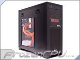 Corsair Obsidian Series 650D Mid Tower Chassis Custom Liquid Cooled - Dual Loop Liquid Cooled Edition