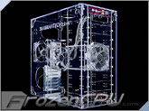 Sunbeam 9-Bay Acrylic Mid-Tower Case - Clear - (AC9B-T)