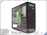 SilverStone Temjin TJ09 Tower Case w/ Full Bolt-On Window / Black - Dual Loop Custom Liquid Cooled Edition