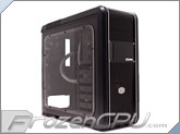 Cooler Master CM 690 II Advanced Mid Tower Chassis w/ Custom Bolt-On Window - Single Loop Liquid Cooled Raystorm RS240 Edition