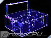 Sunbeam Ultra-Tech Station Acrylic Case - UV Blue - (ACTS-HUVB)