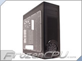 Lian Li PC-A75X Advanced Full Tower E-ATX Case - Black Exterior / Black Interior - MNPCtech Edition w/ Optional Radiator Installed