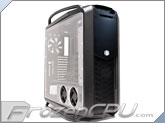 Cooler Master COSMOS II Aluminum Alloy Full Tower Chassis w/ MNPCTech Acrylic Side Panel - Black / Black (RC-1200-KKN1-MNPC)