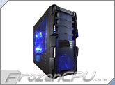 APEVIA X-Hermes Mid Tower Case w/ Side Window - Blue (X-Hermes-BL)